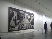 This is a wonderful piece of work in itself but tells the story of Guernica . guernica picasso animated