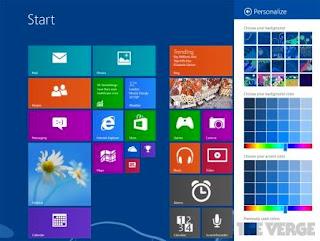 Tampilan Windows 9
