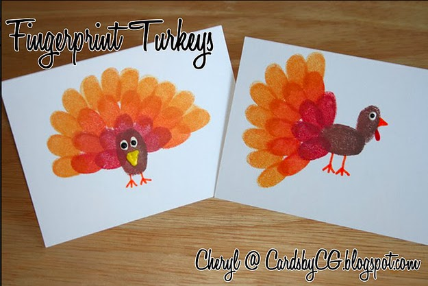 Tumbprint Turkeys