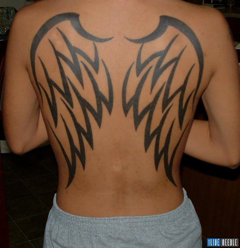 For wings women tattoo full angel back