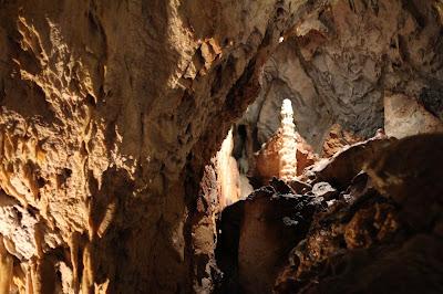 Inside Grotto dei Dossi