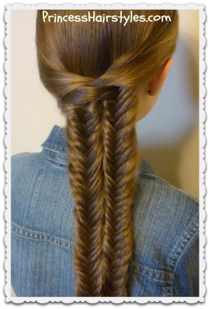 Fishtail Illusion Braid (Mermaid Braid) Video Tutorial