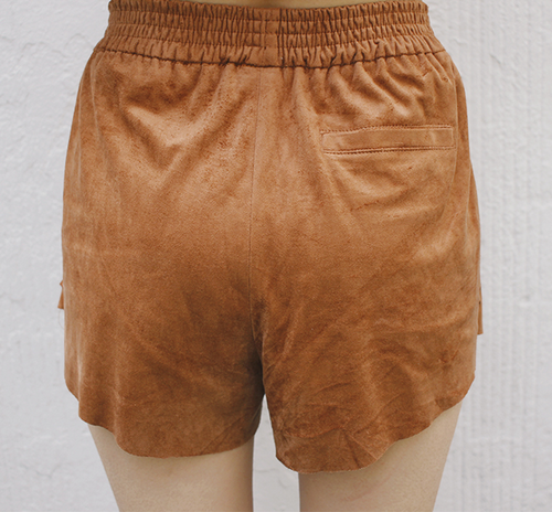 Stitched Side Mini Shorts
