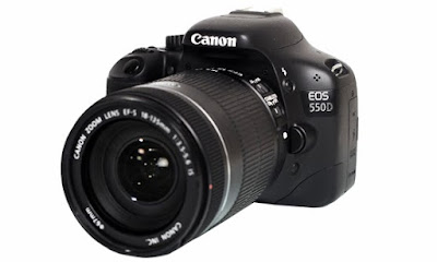 Specifications Camera Canon EOS 550D Complete