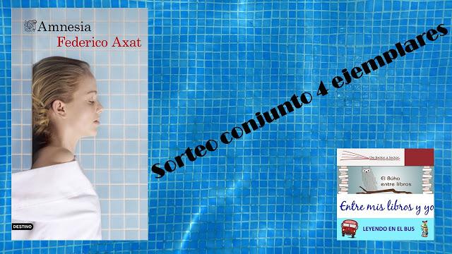 SORTEO CONJUNTO DE AMNESIA (FEDERICO AXAT)