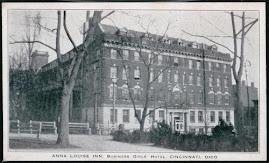 CINCINNATI POSTCARDS: THE ANNA LOUISE INN