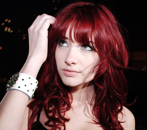 Dark Red Hair Color @ Celebrity Hair Cuts Proudly Powered by