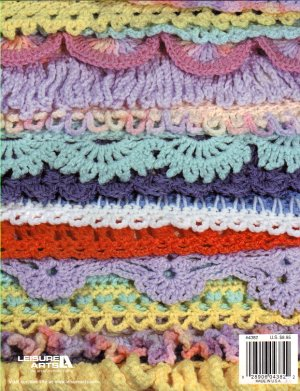Free Crochet Pattern Afghan Edging : CROCHET RUFFLE EDGING AFGHAN ? Only New Crochet Patterns