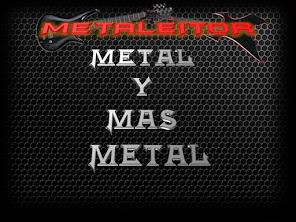 Todos los Martes y Jueves escucha METAL MAS METAL
