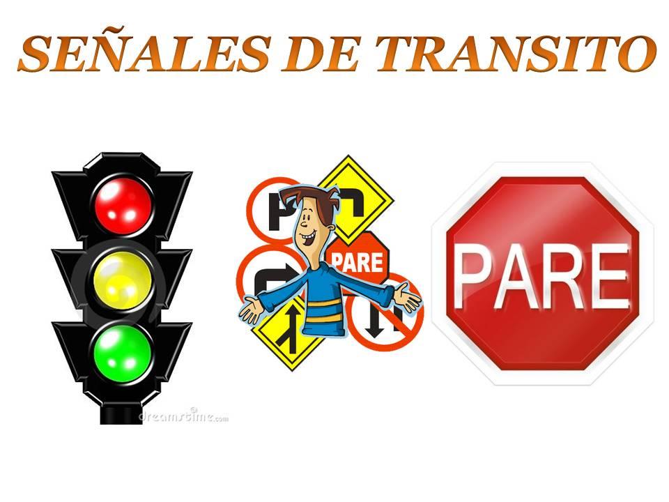 Conociendo y respetando las señales de transito