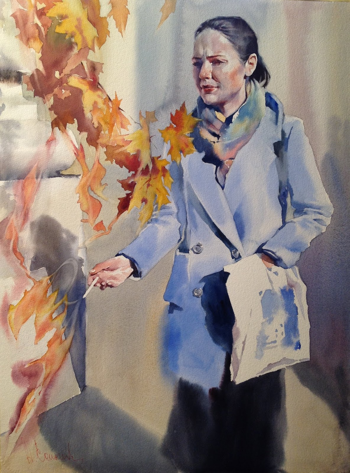 Andrey Esionov Lady Autumn