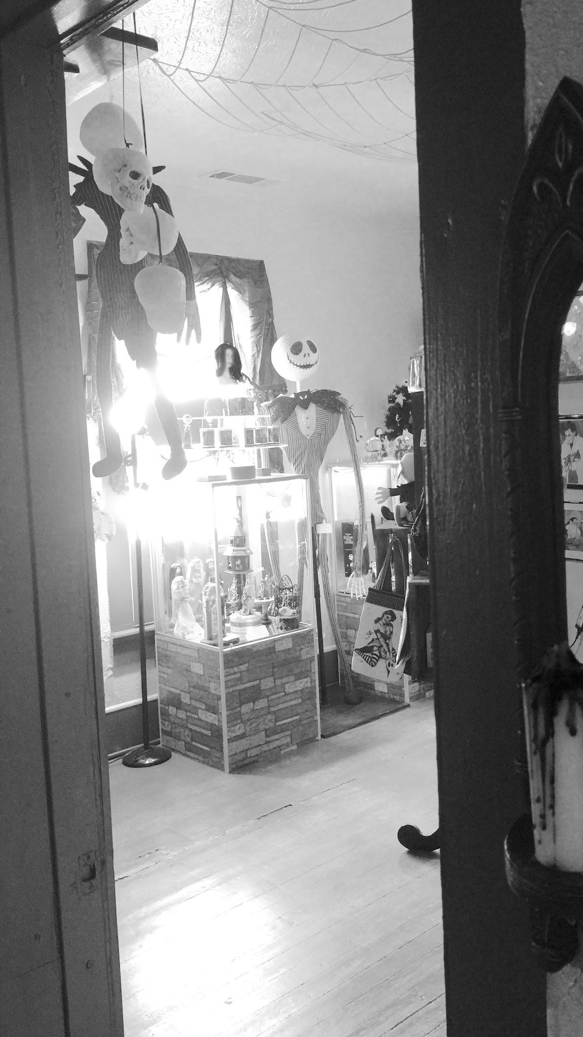 Peeking into the Tim Burton room