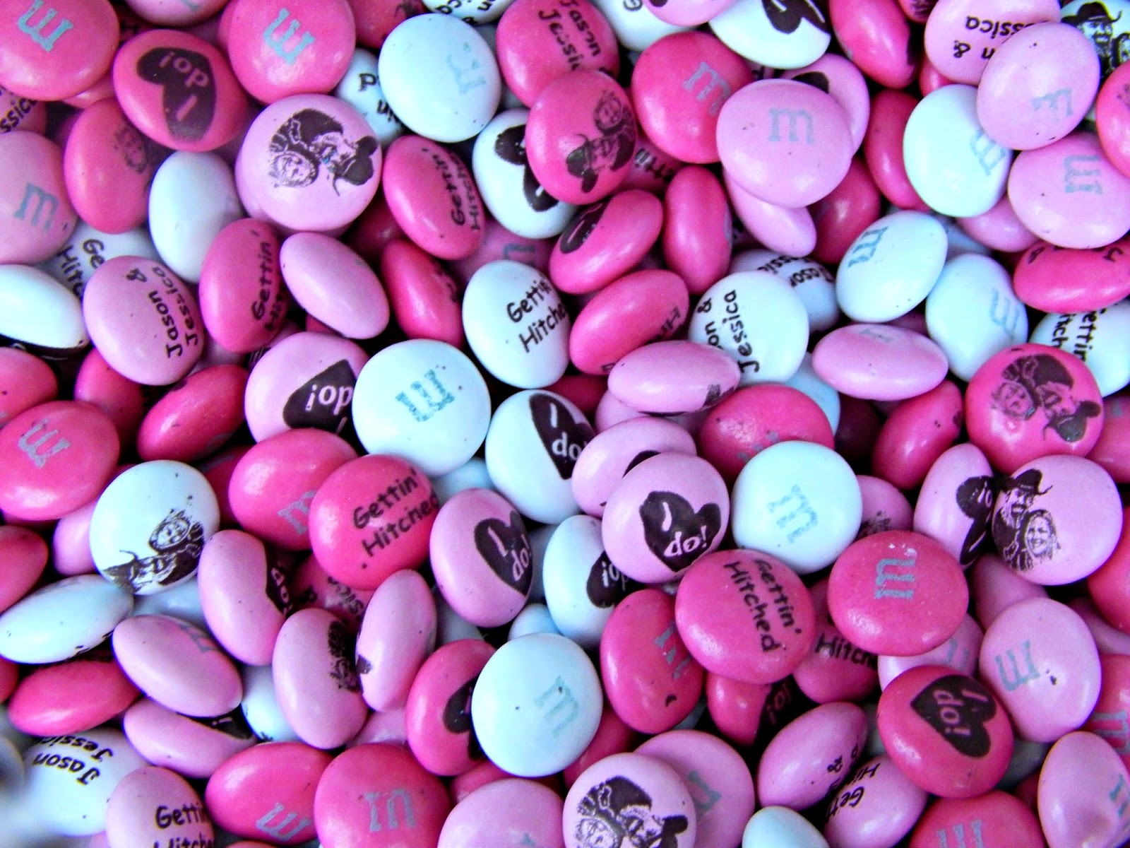 Melissa Kaylene: Cute Bridal Shower Gift Idea with My M&M\'s
