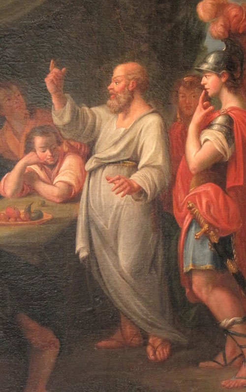 Socrates Teaching The Archives of The Di...