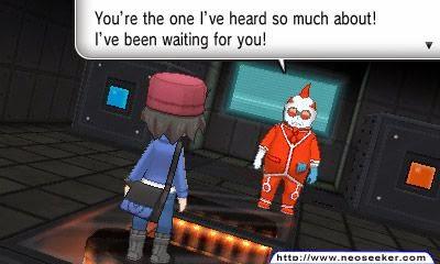 3DS Pokemon X Screenshot