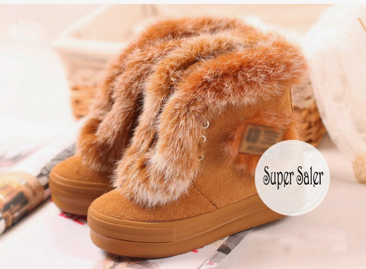 Women Winter Boots brown