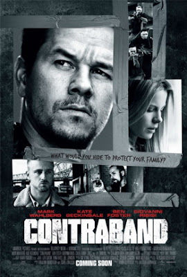 Contraband 2012 film poster movie review Mark Walhberg