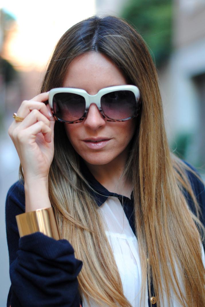 Gafas de sol de moda blog de moda Mes Voyages à Paris