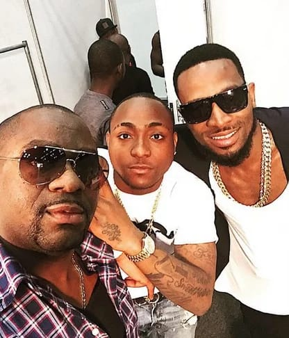 Davido Hangs out With Dbanj In Durban