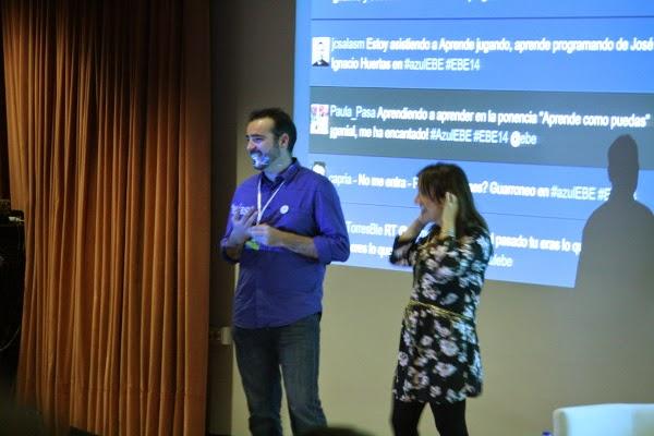 Daniel Porras y Nuria Vallejo