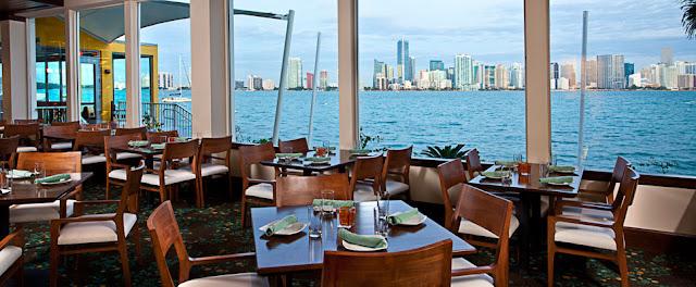 Rusty Pelican Restaurante em Miami