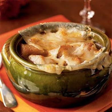 Sopa de cebolla. Francia