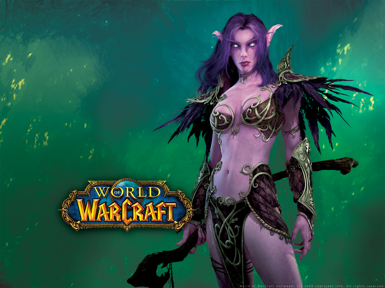 Nightelf boobies 3d exposed tube