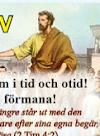 Bibelskola på Bällsta Missionscenter 14/10 - 5/11