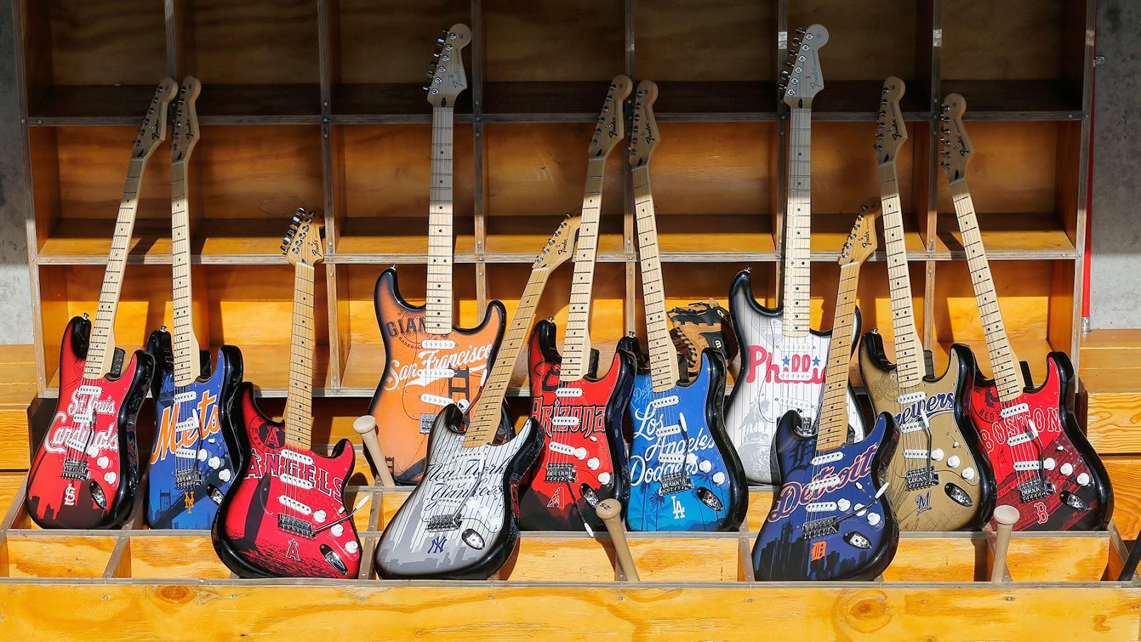 Fender MLB Strats 2014