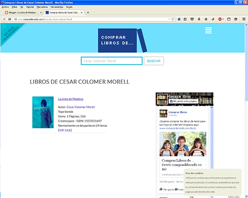 http://www.comprarlibrosde.com/libros-de_Cesar%20Colomer%20Morell