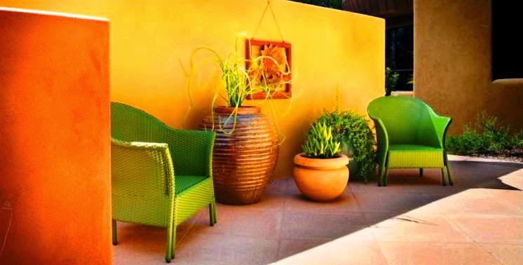 Decorate your garden with yellow color