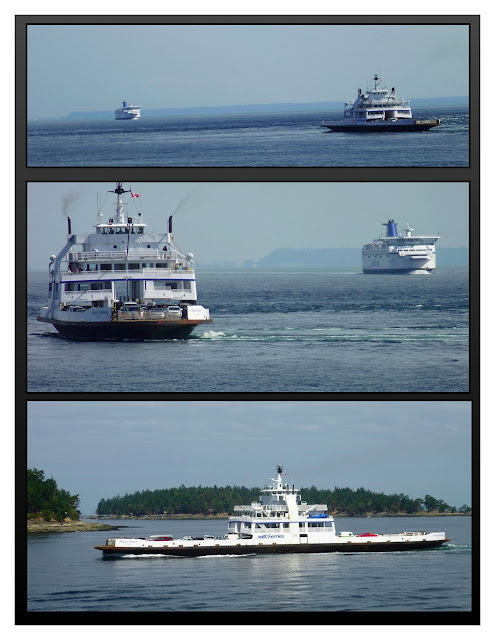 Gulf Islands ferries, BC