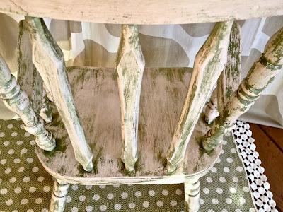 child's antique rocking chair