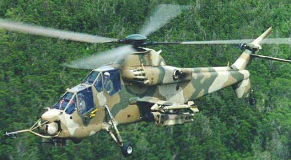 Helikopter Serang Afrika Selatan