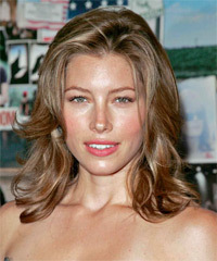 Jessica Biel light brown hair
