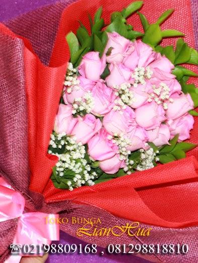 toko bunga handbouquet bunga mawar, kado buat pacar
