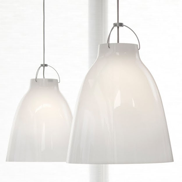 Classic glass pendant light fixture modern design by moderndesign classic glass pendant light fixture caravaggio in opal glass aloadofball Image collections