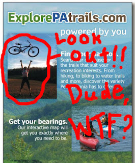 explore pa trails brochure