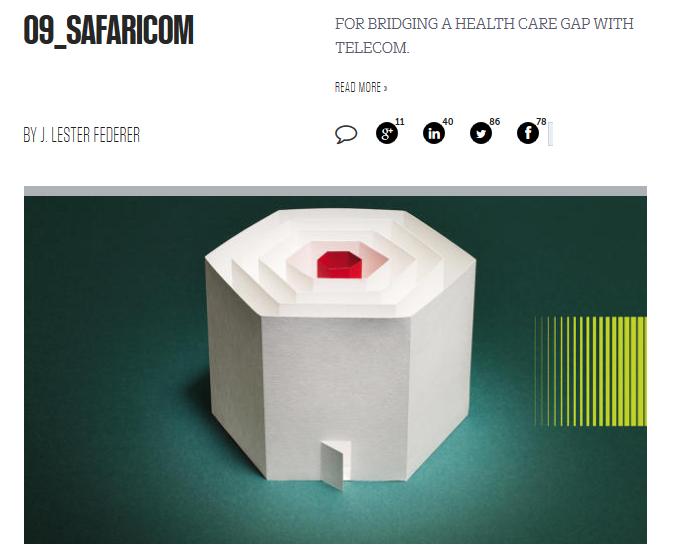 Safaricom, 9e companie la plus innovante au monde., A Unix Mind In A Windows World