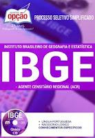 Apostila IBGE Agente Censitário Regional 2016.
