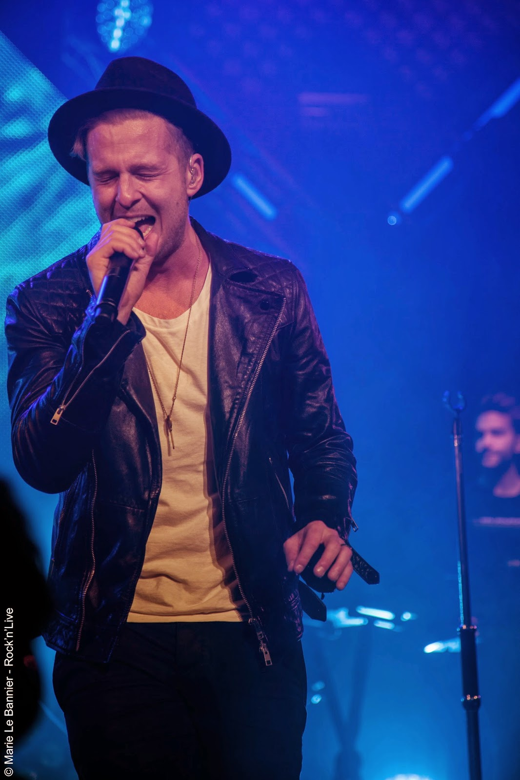 OneRepublic Trianon Paris 2014 Rock'n'Live Live Report Concert Pop Marie Le Bannier Ryan Tedder Zach Filkins Eddie Fisher Brent Kutzle Drew Brown Native Apologize Stop and Stare All the Right Moves Good Life If I Lose Myself Counting Stars Something I Need