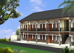 model rumah kost minimalis