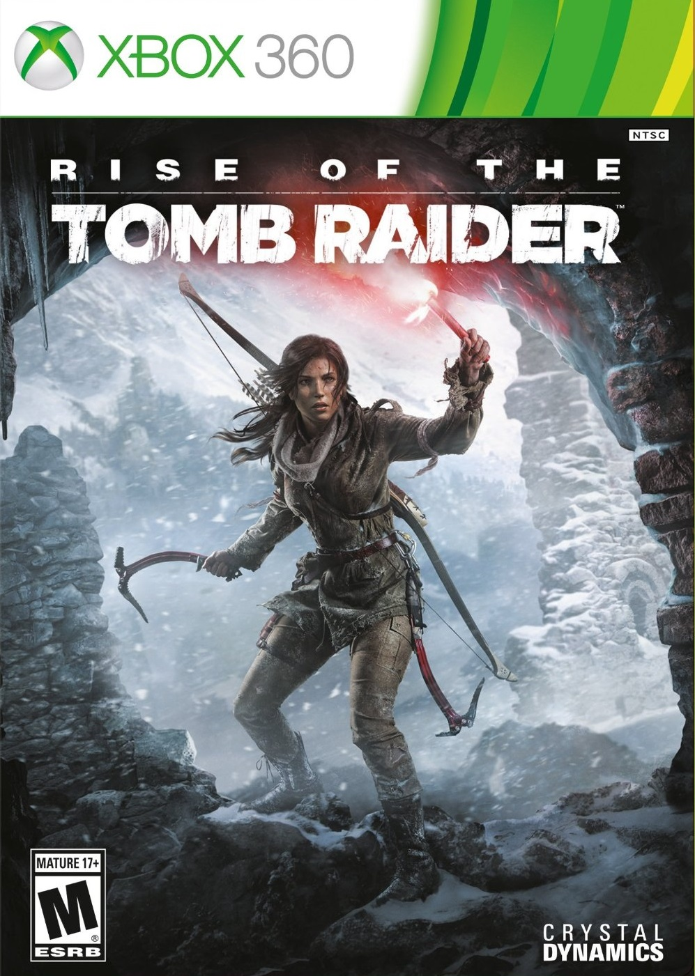 Rise Of The Tomb Raider ESPAÑOL XBOX 360 Cover Caratula