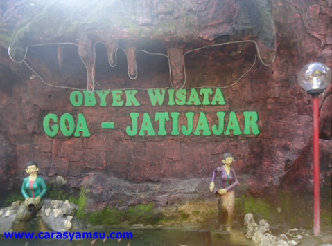 Taman Objek Wiasata Goa Jatijajar Kebumen