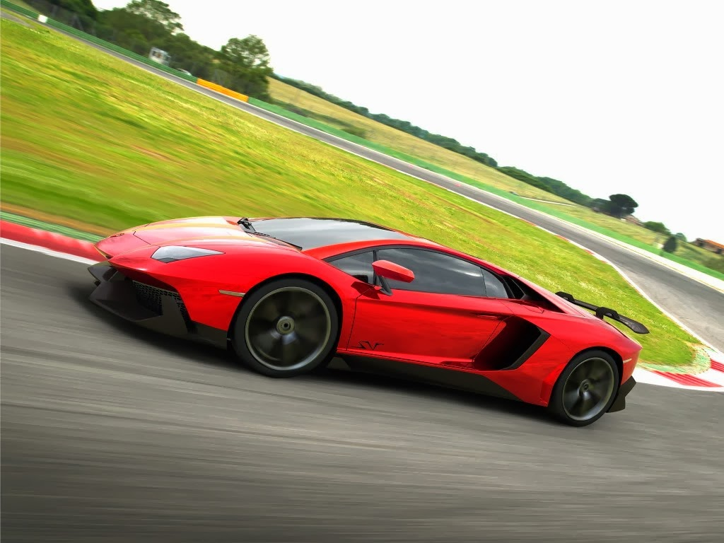 Lamborghini Aventador SV Car Wallpaper