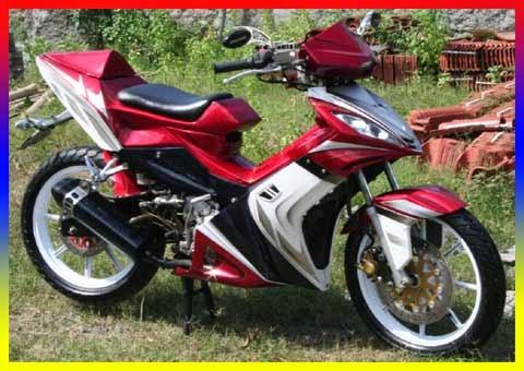 Modifikasi Yamaha Jupiter Mx Terbaru