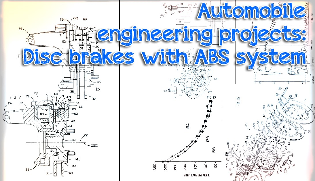Automobile engineering projects: Disc brake system with ABS technology ~ Engineering projects ...
