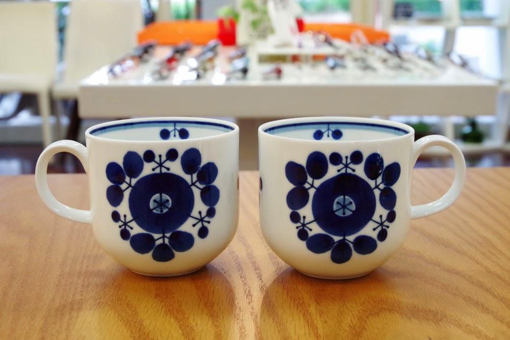 白山陶器ブルームマグカップ 北九州市八幡東区メガネサロンW