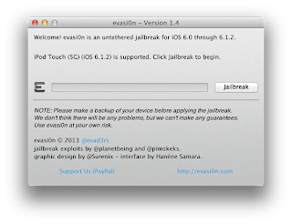 how to jailbreak iphone 4s ios 6.1.2 With evasi0n