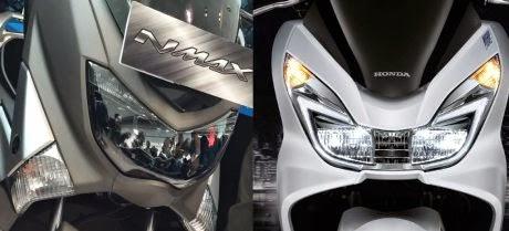 Perbandingan Honda PCX 150 dan Yamaha NMAX